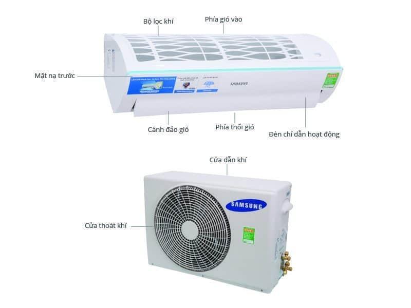 máy lạnh Samsung 1hp, máy lạnh 1hp treo tường Samsung , máy lạnh Samsung 1 ngựa